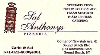 Sal Anthonys Long Island